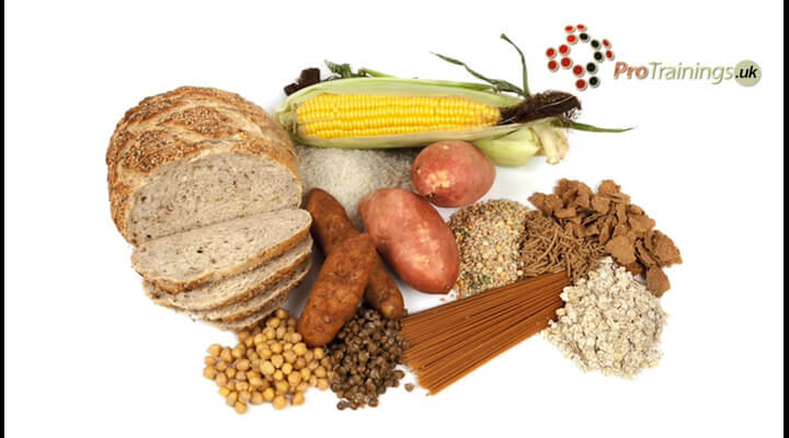 Bread, cereals and starchy foods