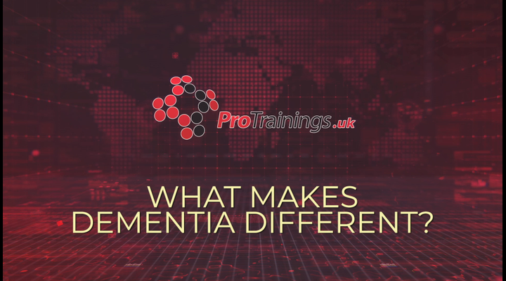 What makes Dementia Different