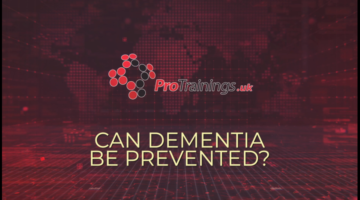 Can Dementia be prevented
