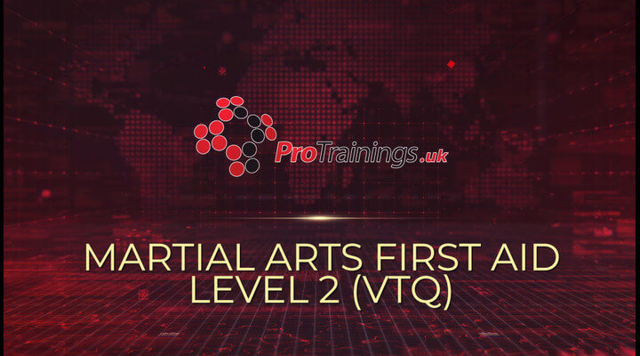 Course overview to martial arts first aid