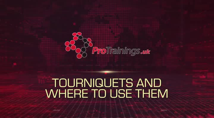 Tourniquets and Where to Use Them