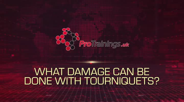 What damage can be done with tourniquets