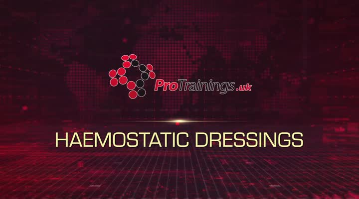 Haemostatic dressings