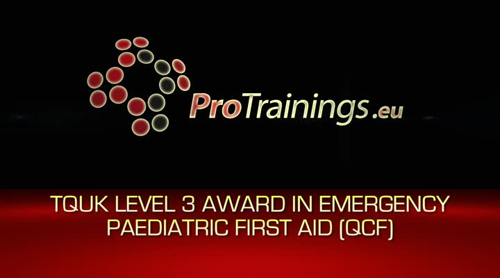 Introduction to TQUK Level 3 Award in Emergency Paediatric First Aid (RQF) blended part one