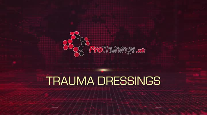 Trauma dressings