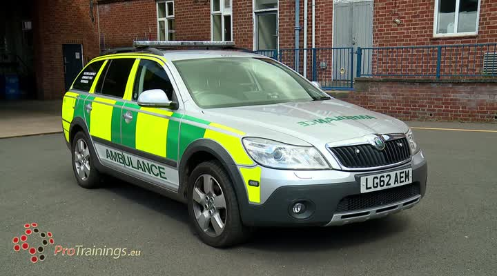 The Ambulance and CFR car