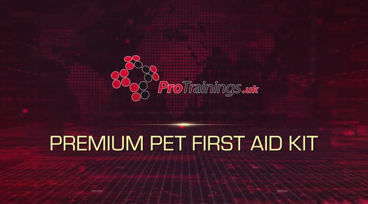 Premium Pet First Aid Kit