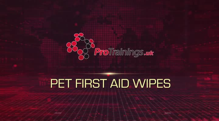 Pet First Aid Wipes