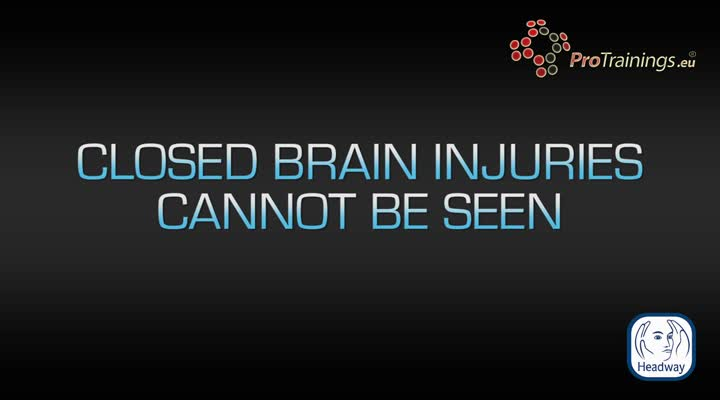 Stages of a brain injury