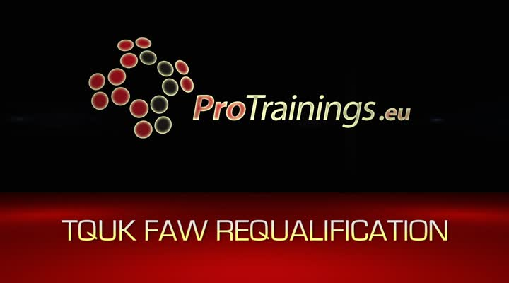 TQUK Level 3 Award in First Aid at Work (RQF) - Requalification