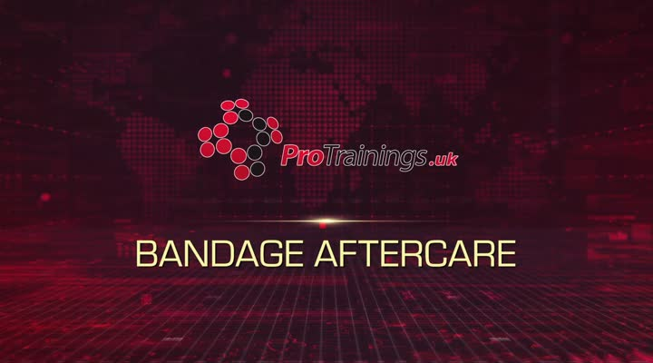 Bandage Aftercare