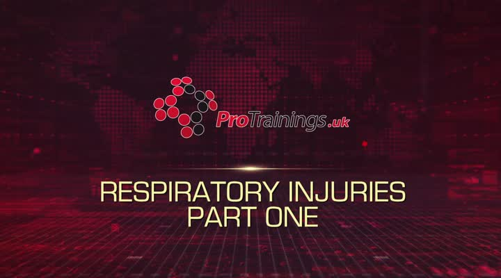 Respiratory Injuries Part One