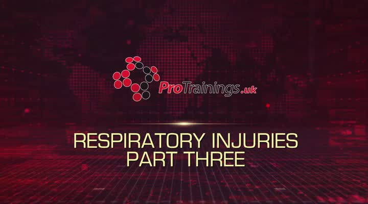 Respiratory injuries part three