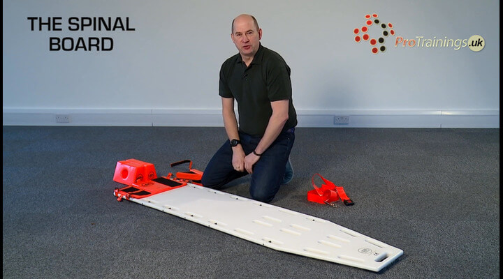 The spinal board