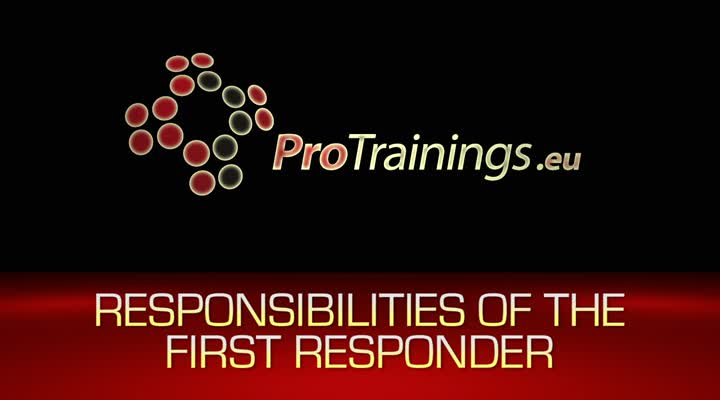Responsibilities of the First Responder