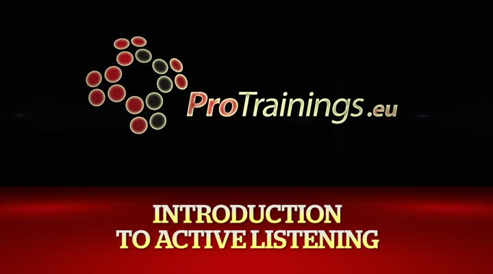 Active Listening Introduction