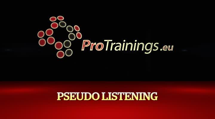 Pseudo Listening
