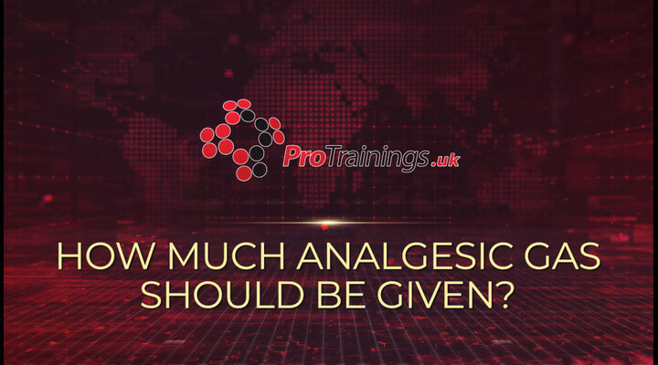 How much Entonox should be given