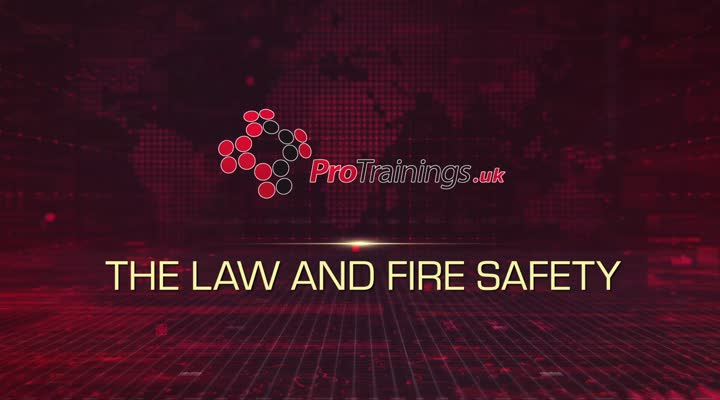 The Law and Fire Safety