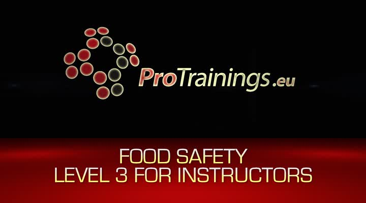 Food Safety Level 3 Instructors
