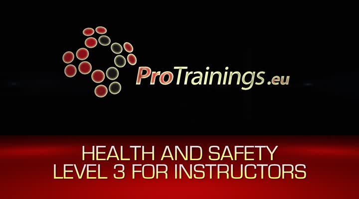 Health and Safety Level 3 Instructors