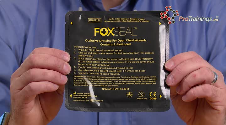 Fox chest seals