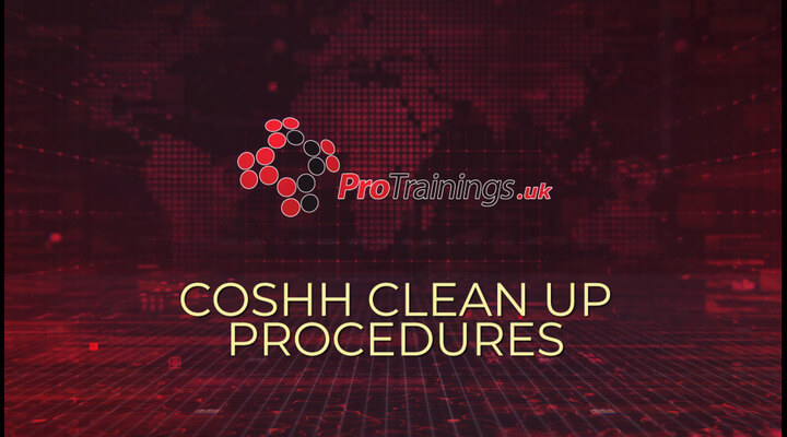 Clean up procedures