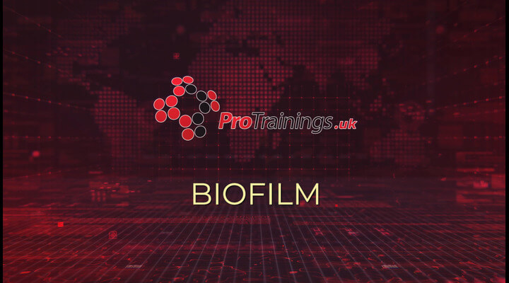 Bio film and keeping medical water supplies clean