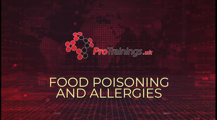 Food Poisoning and allergic reactions