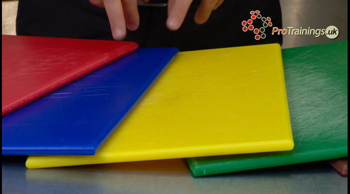 Chopping Board Colours