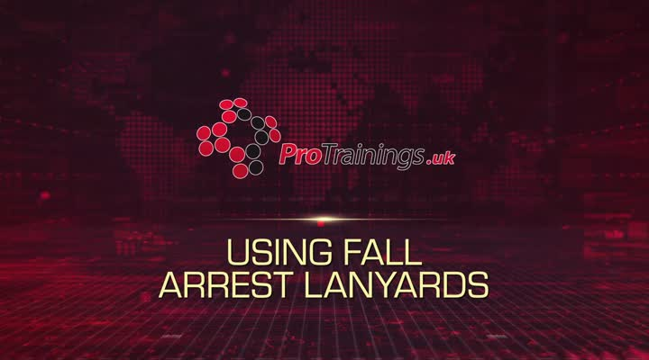 Using fall arrest lanyards