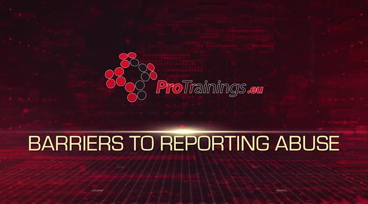 Barriers to reporting abuse