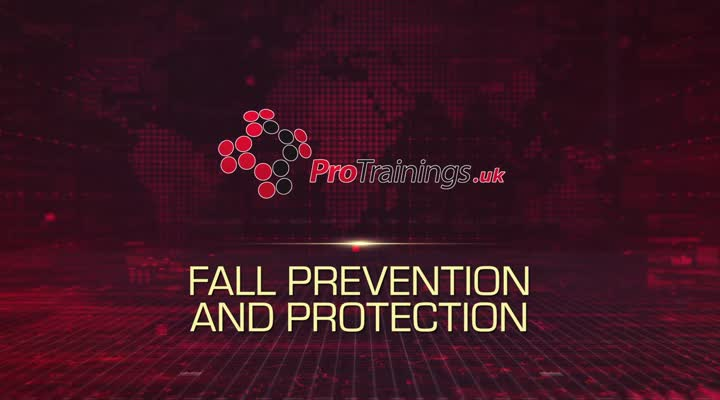 Examples of fall prevention and fall protection