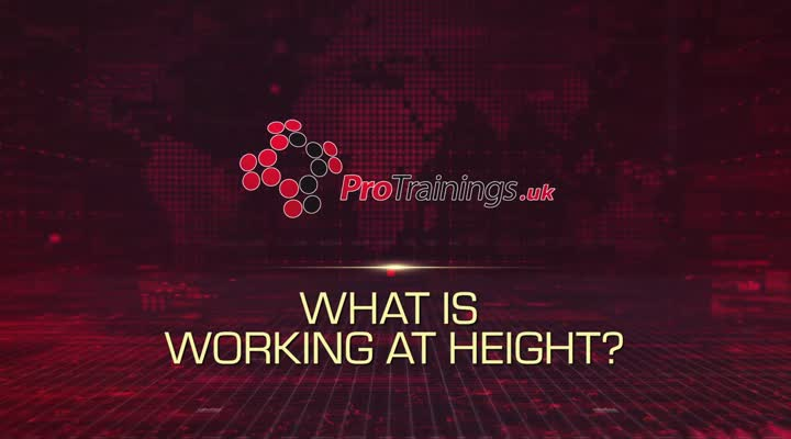 What is Working at Height?