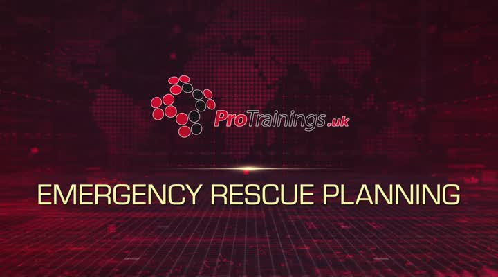 Emergency rescue planning