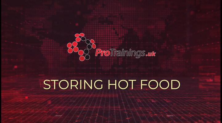 Storing Hot Food
