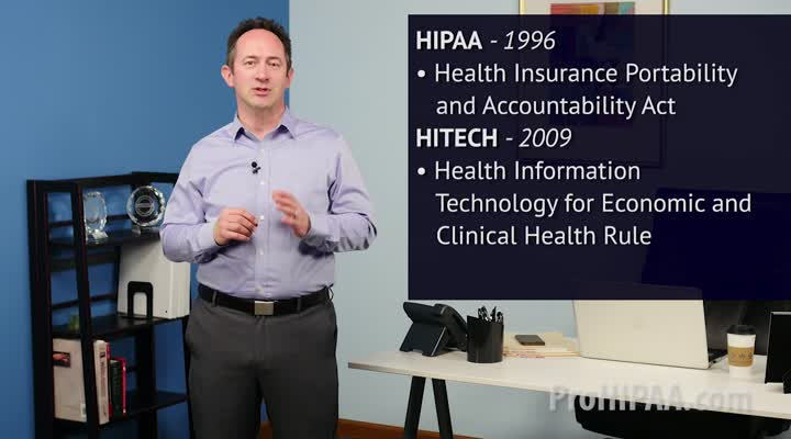 The History of HIPAA