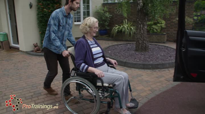 Special considerations when using a wheelchair