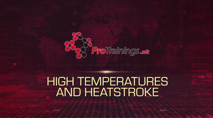 High Temperatures and Heatstroke
