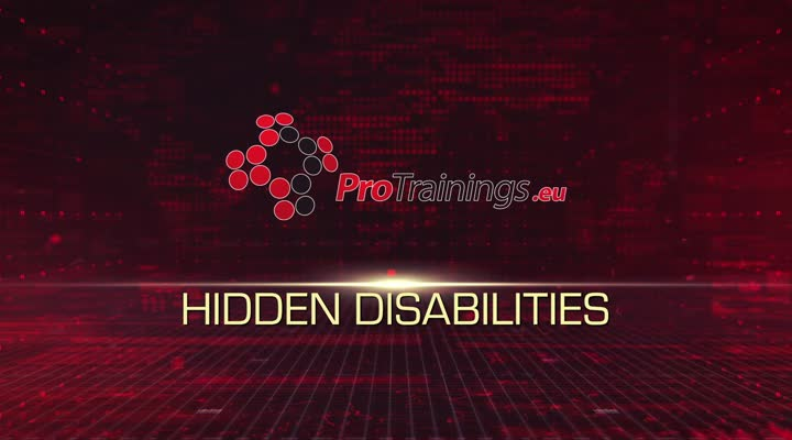 Hidden or invisible disabilities