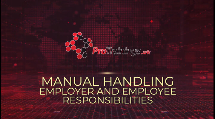 Manual handling Employee and Employer responsibility