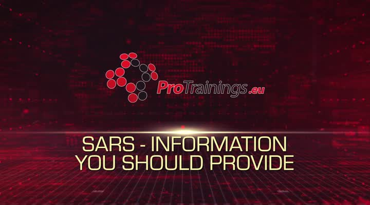 SAR-Information you should provide