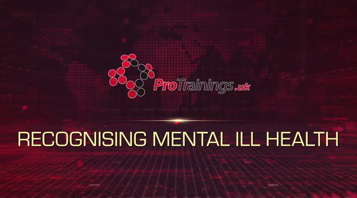 Recognising mental ill health