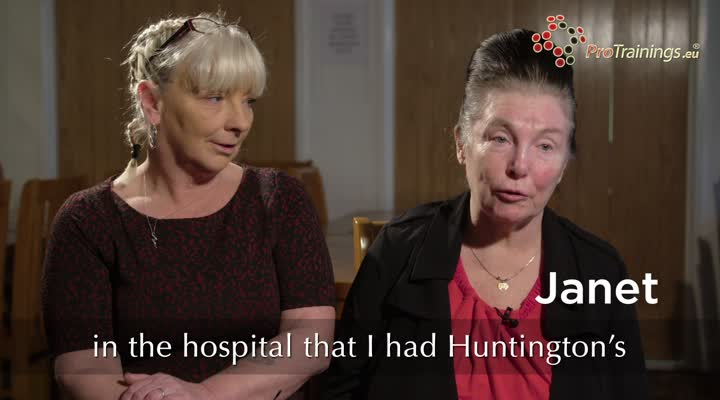 Living with Huntington's Disease – Janet, Sue and Beryl