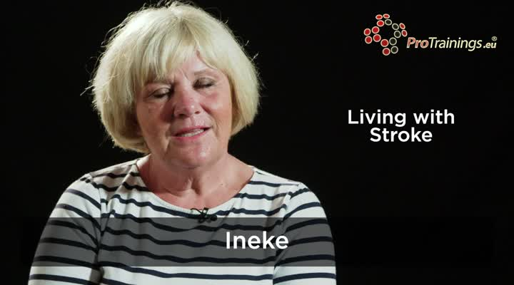 Living with Stroke - Ineke