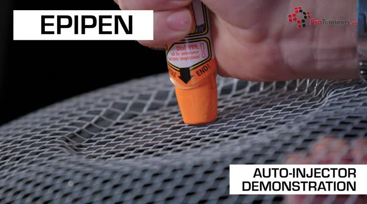 Auto Injector demonstration