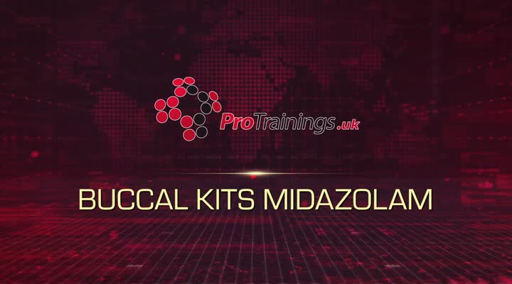 Buccal Midazolam kits