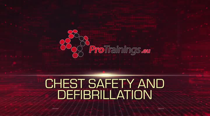 Chest safety and defibriliation