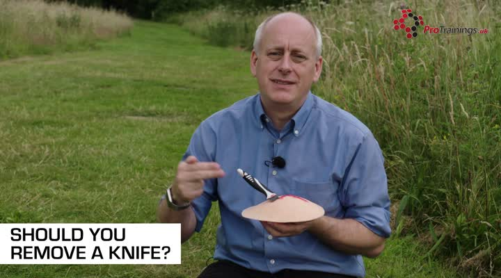 Should You Remove a Knife
