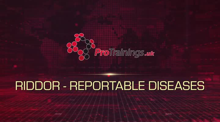 RIDDOR Reportable Diseases